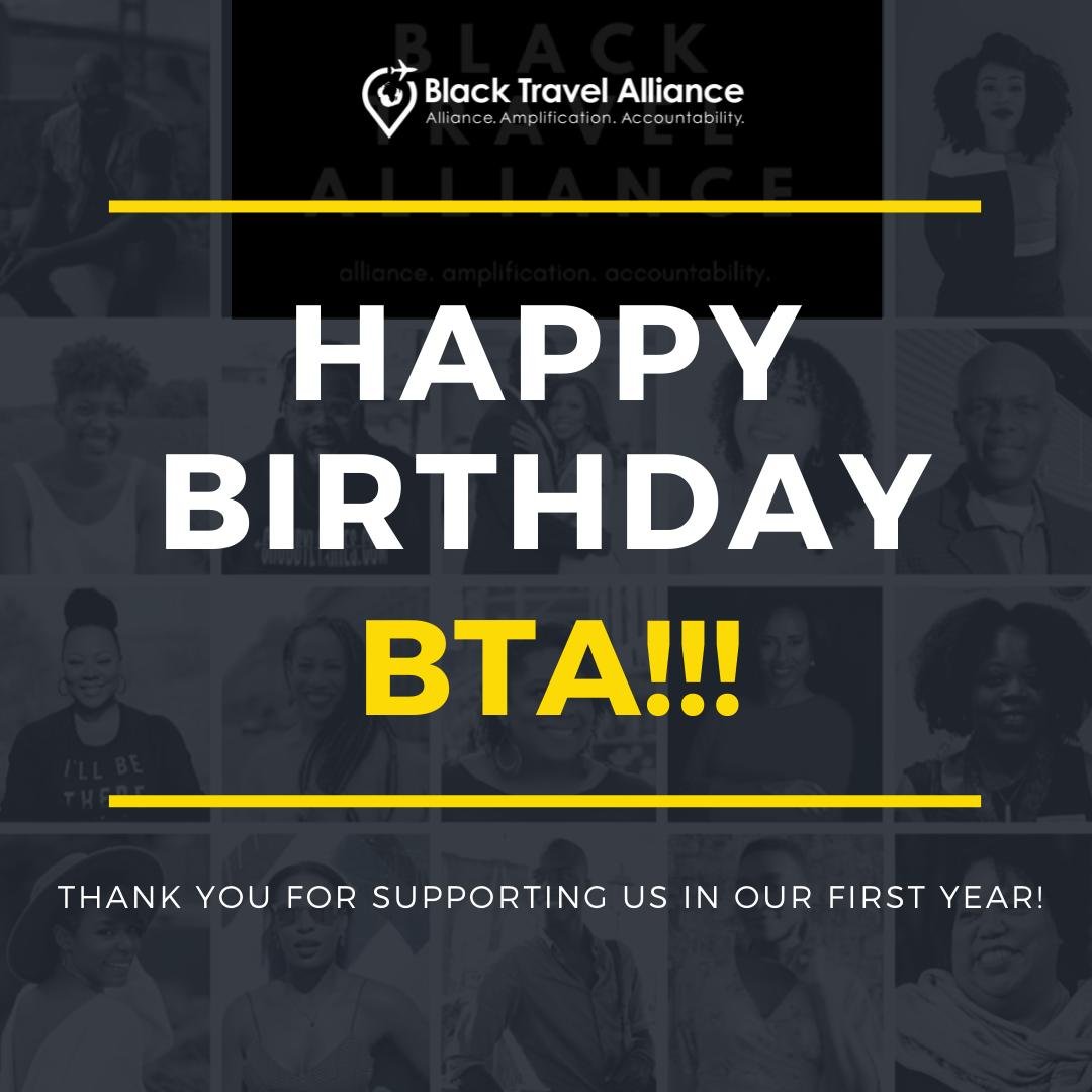 Happy Birthday Black Travel Alliance